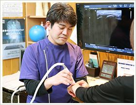 岡崎市の栄光接骨院の豊富な治療器具